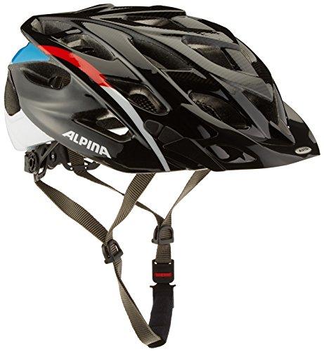 Alpina Women's Alto Helmet Womens D Alto 57-61 Black/Red/Blue (Alpine Womens Bike)