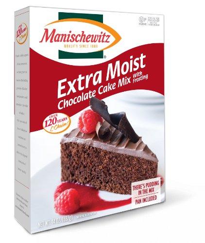 Manischewitz Cake Mix, Extra Moist Chocolate Cake, Passover, 14-ounces