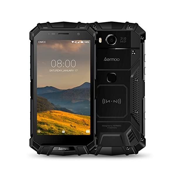 "51ZJBvdm%2BtL. SS600 - Rugged Cell Phones Unlocked, Aermoo M1 4G LTE Dual Sim GSM Outdoor Smartphone Android 7.0 5580mAh Helio P25 Octa-core 5.2'' FHD IP68 Waterproof Dustproof Shockproof mobile Phone 64GB ROM 6GB RAM-Black Rugged Cell Phones Unlocked, Aermoo M1 4G LTE Dual Sim GSM Outdoor Smartphone Android 7.0 5580mAh Helio P25 Octa-core 5.2"" FHD IP68 Waterproof Dustproof Shockproof mobile Phone 64GB ROM 6GB RAM-Black 51ZJBvdm 2BtL"