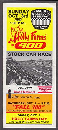 Holly Farm (Holly Farms 400 NASCAR ticket order folder N Wilkesboro 1982)