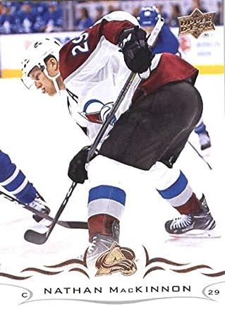 69b8adeb1 2018-19 Upper Deck  50 Nathan MacKinnon Colorado Avalanche NHL Hockey  Trading Card