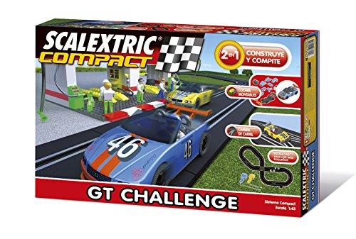 Scalextric-Compact-Circuito-GT-Challenge-Compacto-escala-reducida-143-ocupa-menos-C10127S500
