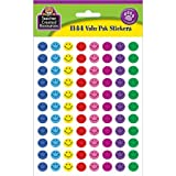 Teacher Created Resources 6633 Mini Happy Face Stickers Valu-pak