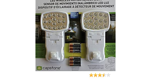 Amazon.com: Wireless motion sensors LED Light 2 piece set: Home & Kitchen