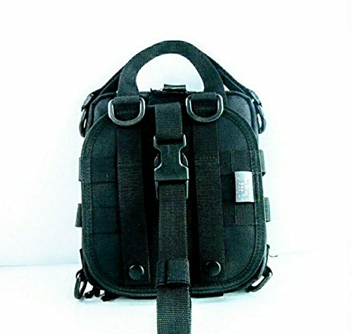 Survival Kit Utility Kit Best EDC Bag Pack ACW Macgyver Ultimate (AWC Empty Bag IN COLOR BLACK, Standard BLACK COLOR) by ACW Tactical USA (Image #3)