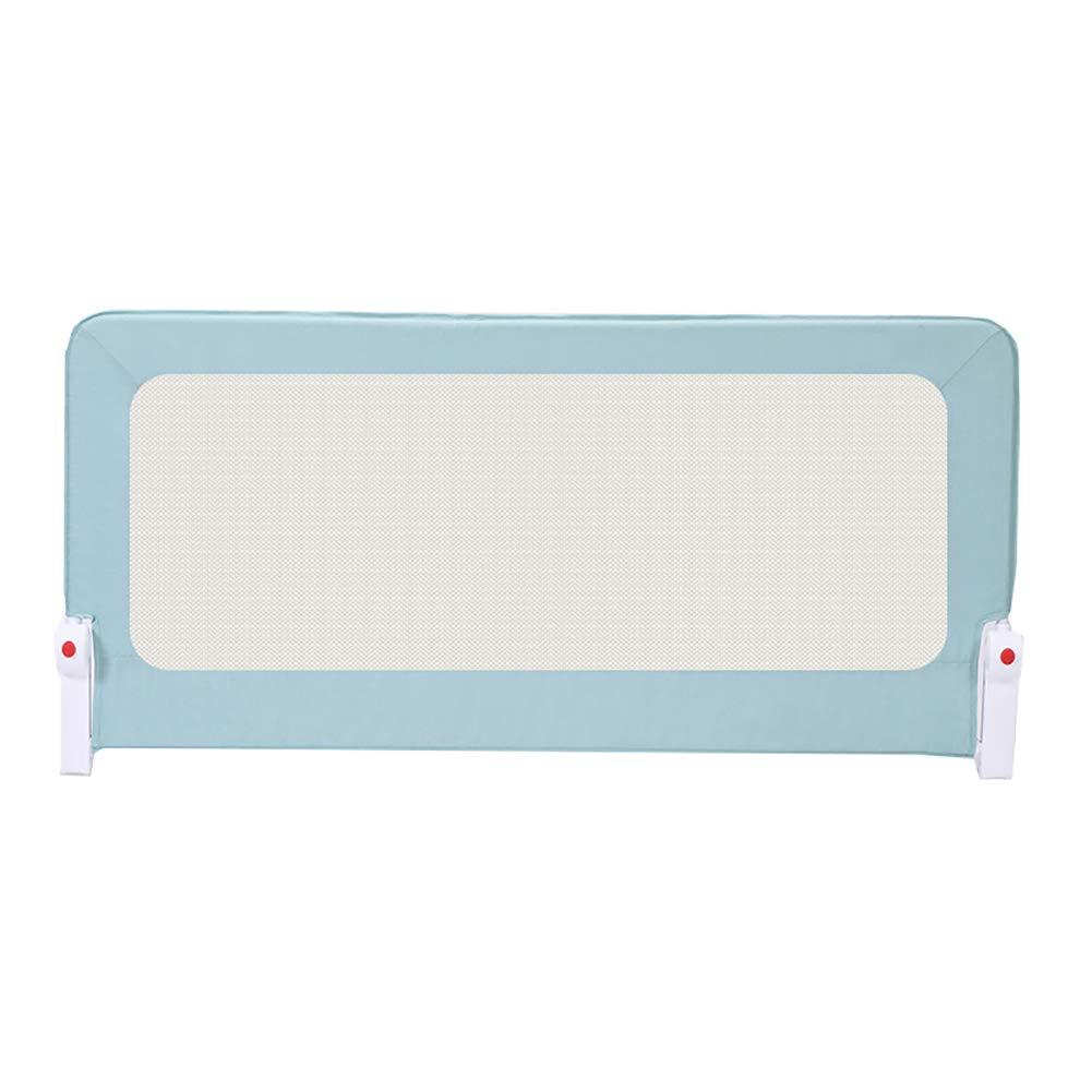Krippe Zaun Kind Bett Geländer Baby Bedside Geländer, 70 Cm hoch (eine Scheibe) (Farbe   Blau, größe   150cm)