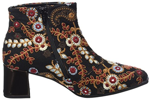 Schwa Basic multic 40 Femme Noir Shoes Bottes Brown Gabor Gabor WZcn0qf6
