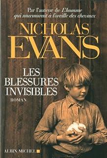 Les blessures invisibles : roman, Evans, Nicholas