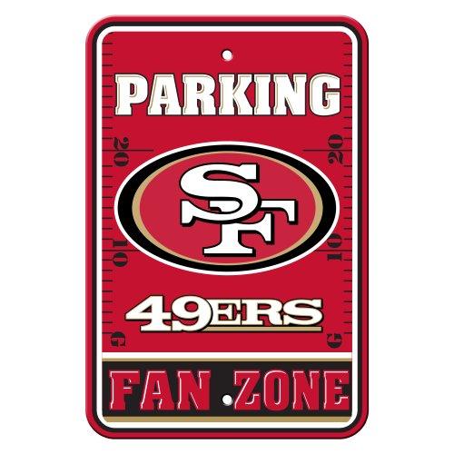 Fremont Die NFL San Francisco 49Ers Plastic Parking Sign ()