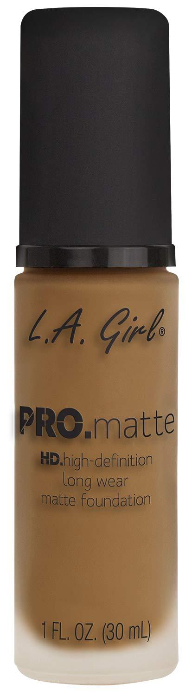 L.A. Girl Pro Matte Foundation, Warm Sienna, 1 fl. oz.