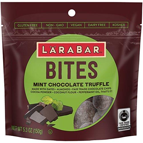 Larabar Bites, Gluten Free, Mint Chocolate Truffle, 5.3 oz Pouch