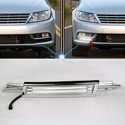 [해외]Auto-Tech 1 Set Car LED Guide Light Daytime Running Light Retrofit LED White +yellow DRL kit For Volkswagen CC 2013-2014 (White to yellow light) / Auto-Tech 1 Set Car LED Guide Light Daytime Running Light, Retrofit LED White +yello...
