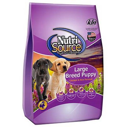 Tuffy'S Pet Food 131115 Nutri Large Breed Chicken/Rice Puppy Food, 30-Pound by Nutri Source