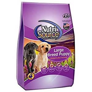 Large Breed Puppy Chicken And Rice Dry Dog Food Nutrisource