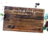 Wedding Guest Signing Board, a unique Wedding Guest Book Alternative & Wedding Keepsake. Sign # 13