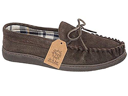 SleepersSlippers - zapatillas de andar por casa hombre marrón