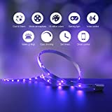 Koogeek Dimmable Smart LED Light Strip, Siri Timer Remote Control, 16000K Colors USB Powered 2m Compatible with Apple HomeKit, Android, Alexa, Alexa Echo and Google Assistant on 2.4Ghz