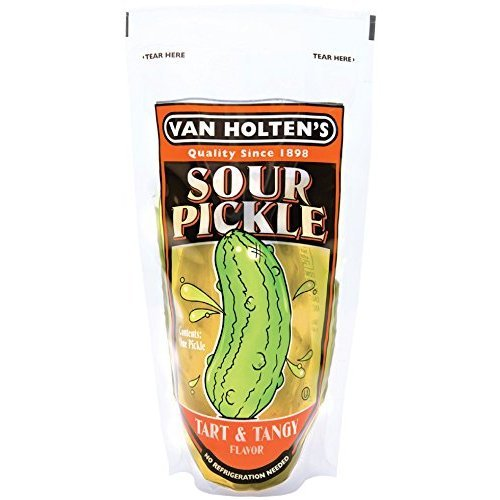 Van Holten's - Pickle-In-A-Pouch Large Sour Pickles - 12 Pack