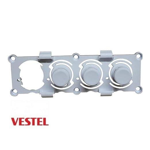 Teclado de 3 botones para lavadora Vestel Techwood Atlantic Eureka ...