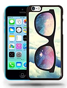 Hipster Infinity of Love Colorful Glasses Phone Case Cover Designs for iPhone 5C