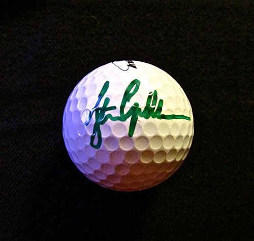 STEPHEN GALLACHER Autographed Hand SIGNED GOLF BALL Intech 3 w/COA & NEW BALL CUBE - Hand Signed Golf Ball