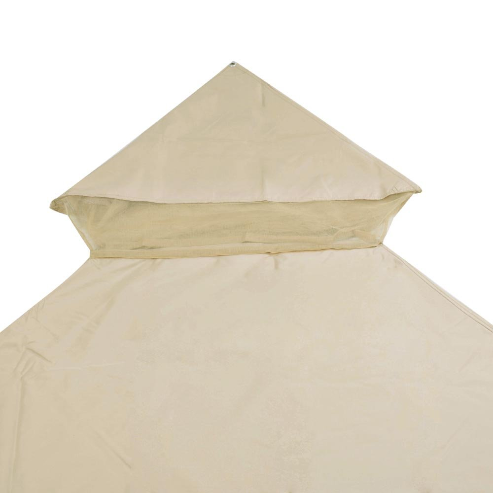 Amazon.com  Yescom 10x10ft 2-Tier Waterproof Gazebo Canopy Replacement Beige Outdoor Garden Yard Patio Top Cover  Garden u0026 Outdoor  sc 1 st  Amazon.com & Amazon.com : Yescom 10x10ft 2-Tier Waterproof Gazebo Canopy ...
