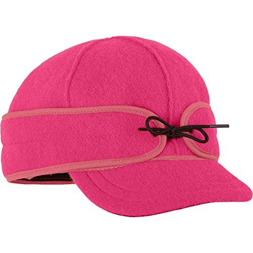 (Stormy Kromer Womens Ida Kromer Blaze Pink Hat - 7 5/8)