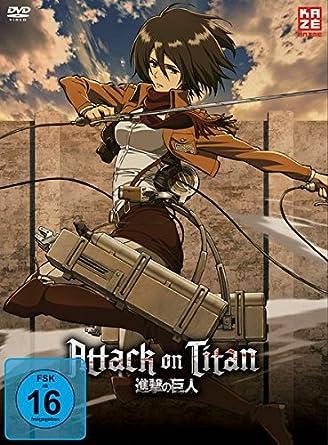Attack On Titan Vol 2 Episoden 8 13 Alemania
