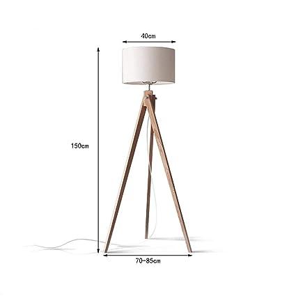 Tinsinss Lámpara de pie del trípode Diseño Moderno ...