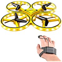RC Drone for Kids, lesgos 360° Rotating Mini Drone with 32 LED Lights, Quadcopter Interactive Infrared Induction Flying…