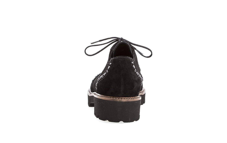 Gabor Damen Fashion Derbys Derbys Fashion Schwarz (Cognac) ac30f0
