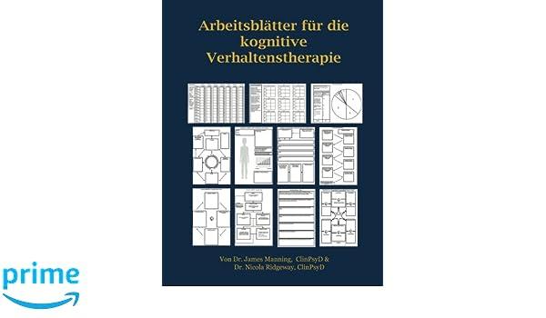 Amazon.com: ARBEITSBLÄTTER FÜR die KOGNITIVE VERHALTENSTHERAPIE ...