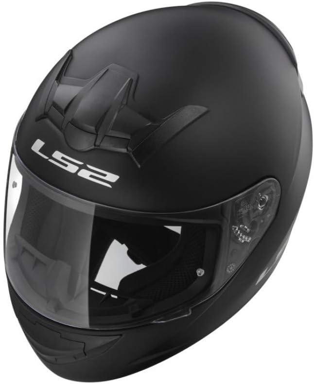 LS2 FF352 Rookie Full Face Motorcycle Helmet White Medium