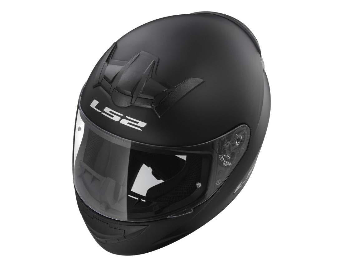 Helm des Kraftrad Helm-Tourismus XL mattschwarz der Helm Sport New LS2/FF352/Rookie Solid Gold ACU Helme Motorradhose volle Gesicht