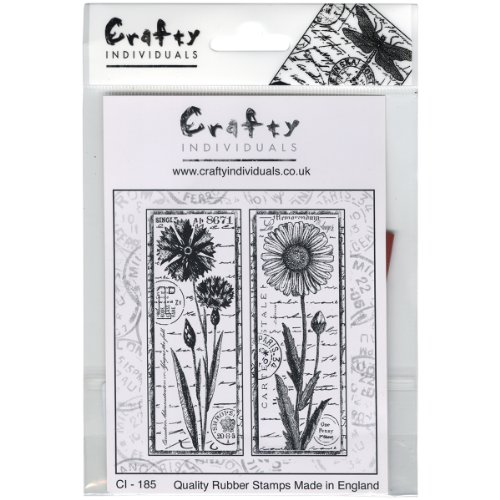 - Crafty Individuals Unmounted Rubber Stamp 4.75