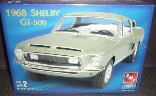 #38560 AMT/Ertl 1968 Shelby GT-500 1/25 Scale Plastic Mod...