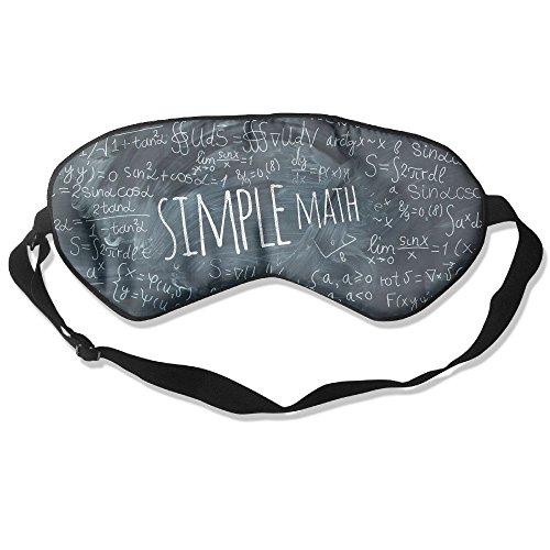 WUGOU Sleep Eye Mask Simple Math Blackboad Lightweight