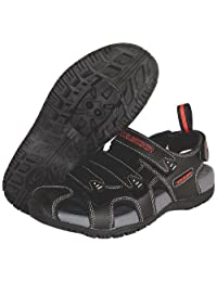 Exustar E-SS503 Bike Sandal,Black,8 M US
