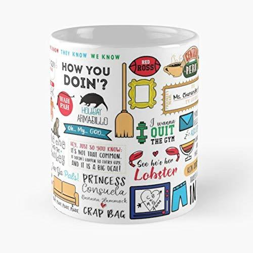 Friends Series Warner Rachel - Coffee Mug-11 Oz,white Unique Birthday Gift-the Best Gift For Holidays.