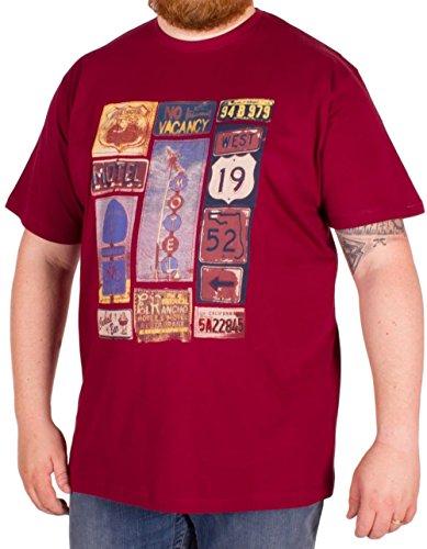 Espionage Herren T-Shirt rot rot