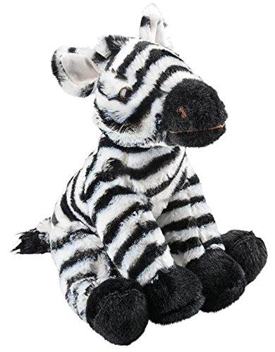 Plush Stuffed Zebra - Wildlife Tree 8.5