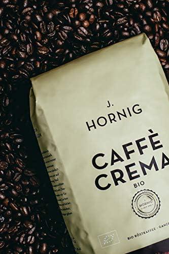 J. Hornig Café en grano de tueste natural Bio, Orgánico, 1000g ...