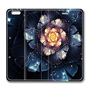 Brian114 4s Case, iPhone 4s Case - Best Protective Scratch-Proof Leather Cases for iPhone 4s Digital Blossom Customized Design Folio Flip Leather Case Cover for iPhone 4s Inch