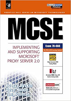 Book MCSE Certification: Implementing and Supporting Microsoft Proxy Server 2.0