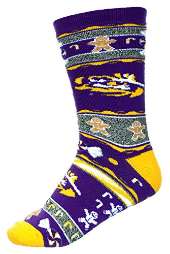 Joker Costume Walmart (For Bare Feet LSU Tigers Ugly Christmas Xmas Holiday Sports Socks)