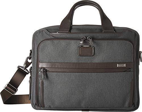 Tumi Unisex Alpha 3 Organizer Brief Anthracite One Size