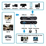 Game Capture Card, 4K HDMI to USB 3.0 HD Video