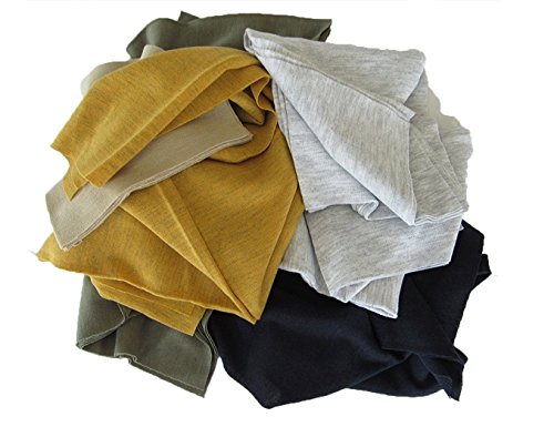 Muli-Colored/Purpose T-Shirt cloth Rags (10 lb bag) Paint Rags