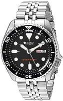 Seiko import Black SKX007KD men's SEIKO watches reimportation overseas model