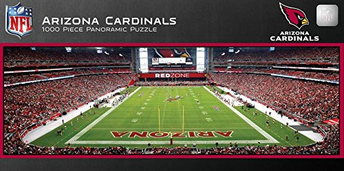 Arizona Cardinals 1000 Piece Panoramic Stadium Jigsaw Puzzle 39 x ()
